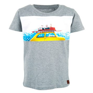 Stones&Bones T-shirt Russell Beachy Grey