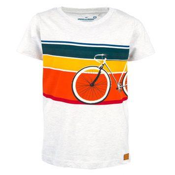 Stones&Bones T-shirt Russell Bike Ash