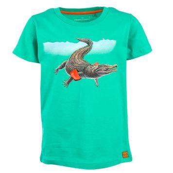 Stones&Bones T-shirt Russell Crocodile Lagune