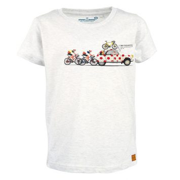 Stones&Bones T-shirt Russell The Climb Ash