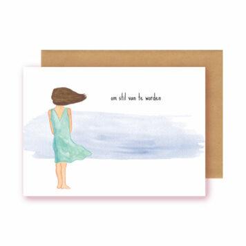 Studio Bertha Postkaart Om stil van te worden