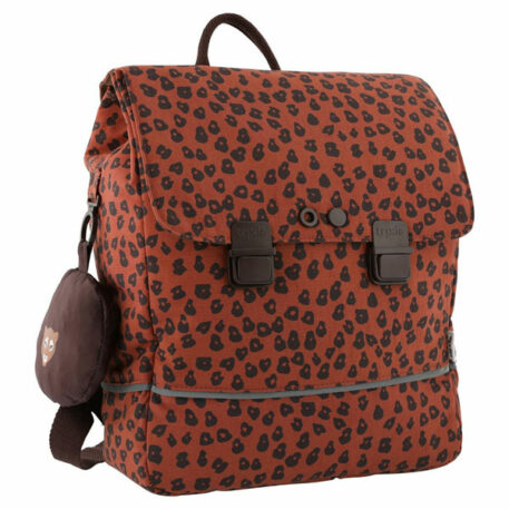Trixie School Backpack Leopard