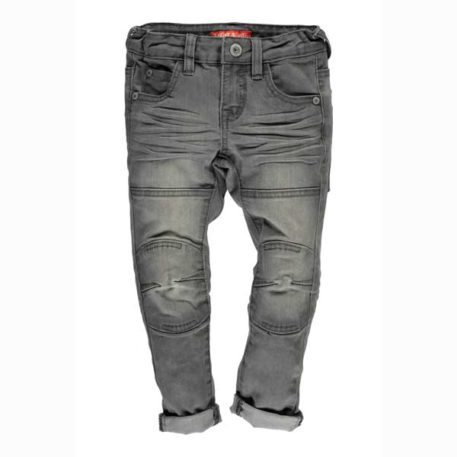 Tygo & Vito Jeans Skinny Grey Denim Kneepatches