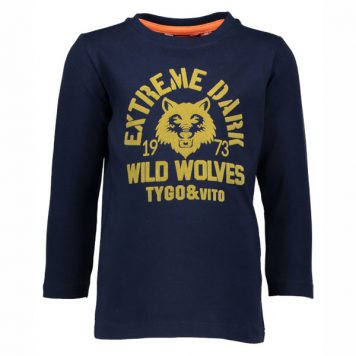 Tygo & Vito Longsleeve Wild Wolves