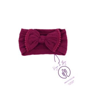 Vega Basics Haarband The Mariposa Burgundy