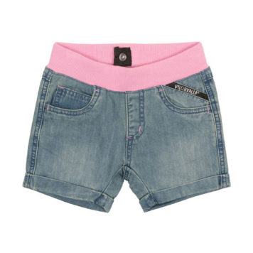 Villervalla Short Light Denim Bubblegum