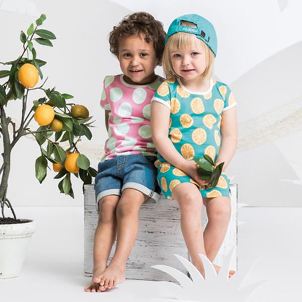 706457dc76c9ee Villervalla kleedje Citrus - Kaat Co