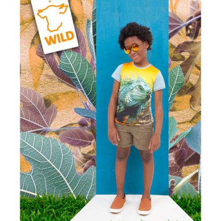 WILD T-shirt Army Balthazar
