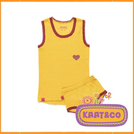 Albababy Funo Underwear Yellow-Yellow Striped