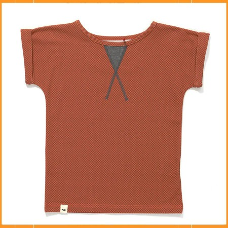 Albababy Garret T-shirt Orange Cubes