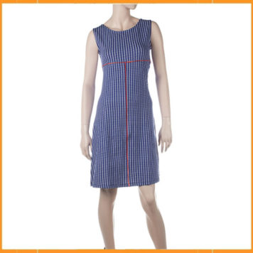 Froy & Dind Dress Bettine Milano Blue