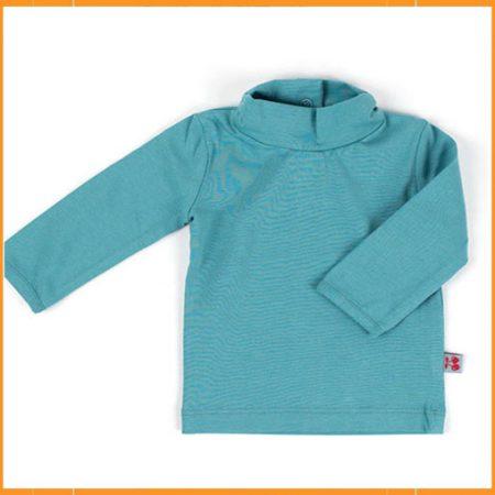 Froy & Dind Shirt Turtleneck Grey Blue