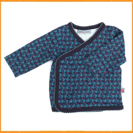 Froy & Dind cache coeur Bangkok Blue Red