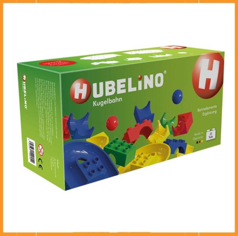 Hubelino uitbreiding voor tunnels en glijbanen - 33 delig