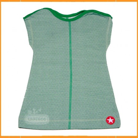 Kik Kid Dress Jersey Star Green