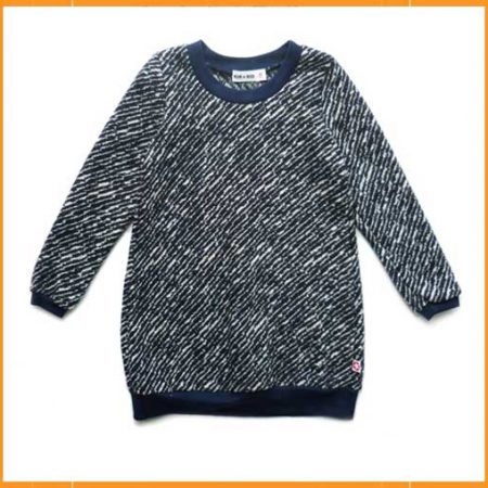 Kik Kid Dress Knit Melee