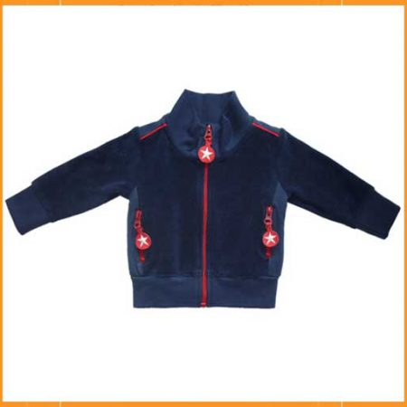 Kik Kid Jacket Terry Dark Blue