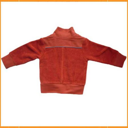 Kik Kid Jacket Terry Dark Orange