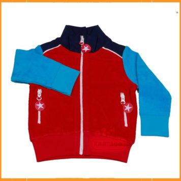 Kik Kid Jacket Terry Red-Blue