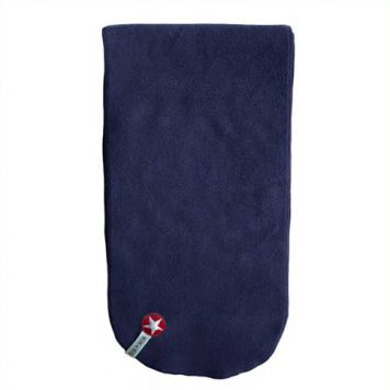 Kik Kid Shawl Organic Fleece Dark BlueKik Kid Shawl Organic Fleece Dark Blue