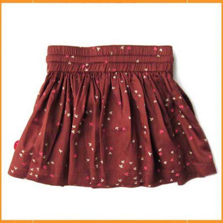 Kik Kid Skirt Woven Brown