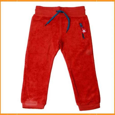 Kik Kid Trouser Terry Dark Orange