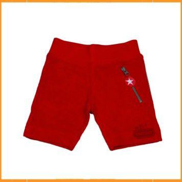 Kik Kid short Terry Red