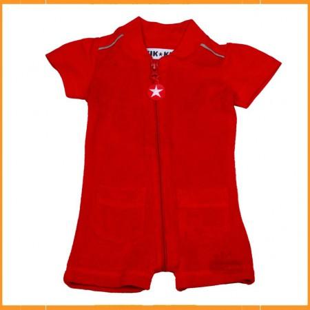 Kik Kid summersuit Terry Red