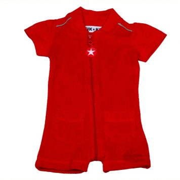 Kik Kid summersuit Terry Red