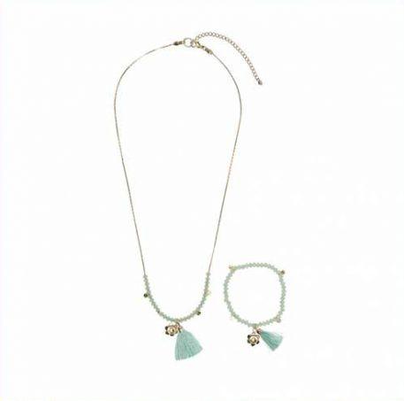 Lebig Dyonne sieraden set Greyded Jade