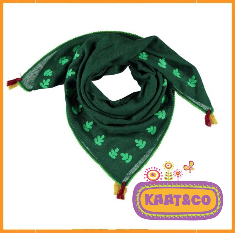Lebig Embroidered Scarf