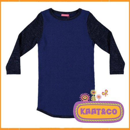 Lebig Fishbone Knit Dress