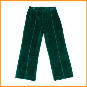 Lily Balou Broek Leon Velours College Green