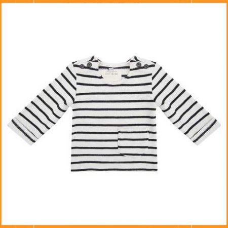 Little Indians Striped Sweater
