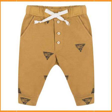 Little Indians Triangle Pants Oker