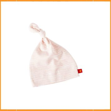 Little Label Hat Newborn Stripes