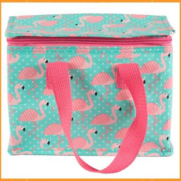 Lunch Bag Tropical Flamingo