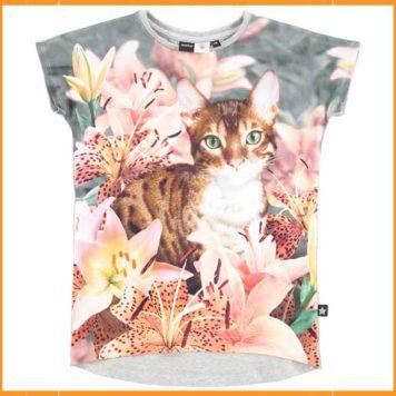 Molo T-shirt Ragnilde Lily Tiger