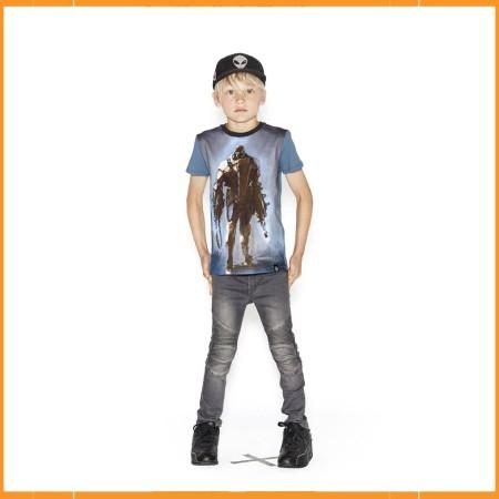Molo T-shirt Rooney Lightning Robot