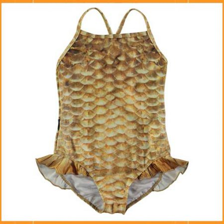 Molo badpak Gold Fishshell