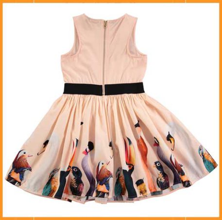 Molo kleedje Carli Poppies