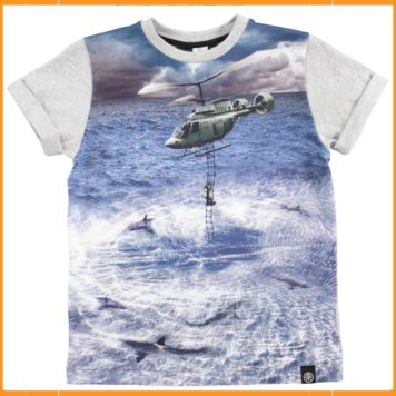 Molo t-shirt Rex Helicopter Rescue