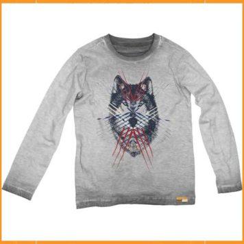 Moodstreet Longsleeve Wolf