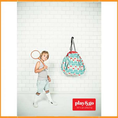 Play&Go speeltapijt-opbergzak Badminton