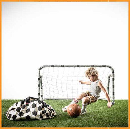 Play&Go speeltapijt-opbergzak Football