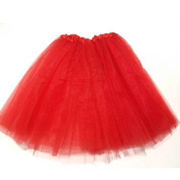 Strass Petticoat Rood