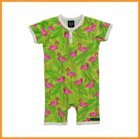Villervalla Summersuit flamingo