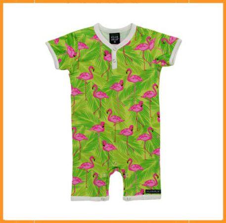 Villervalla Summersuit flamingo