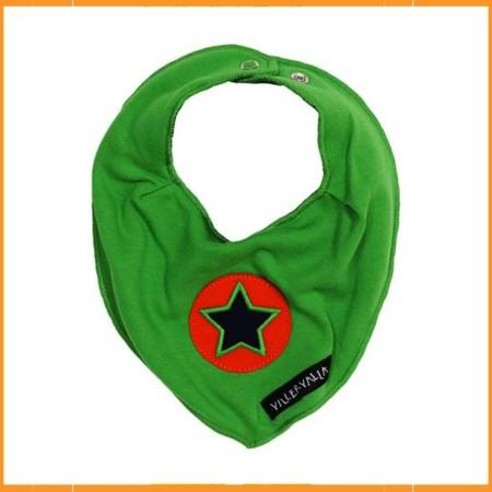 Villervalla sjaaltje ster groen
