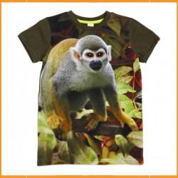 WILD T-shirt Army Saimiri